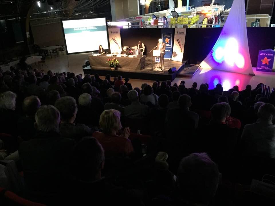 Congrés des maires en Aveyron
