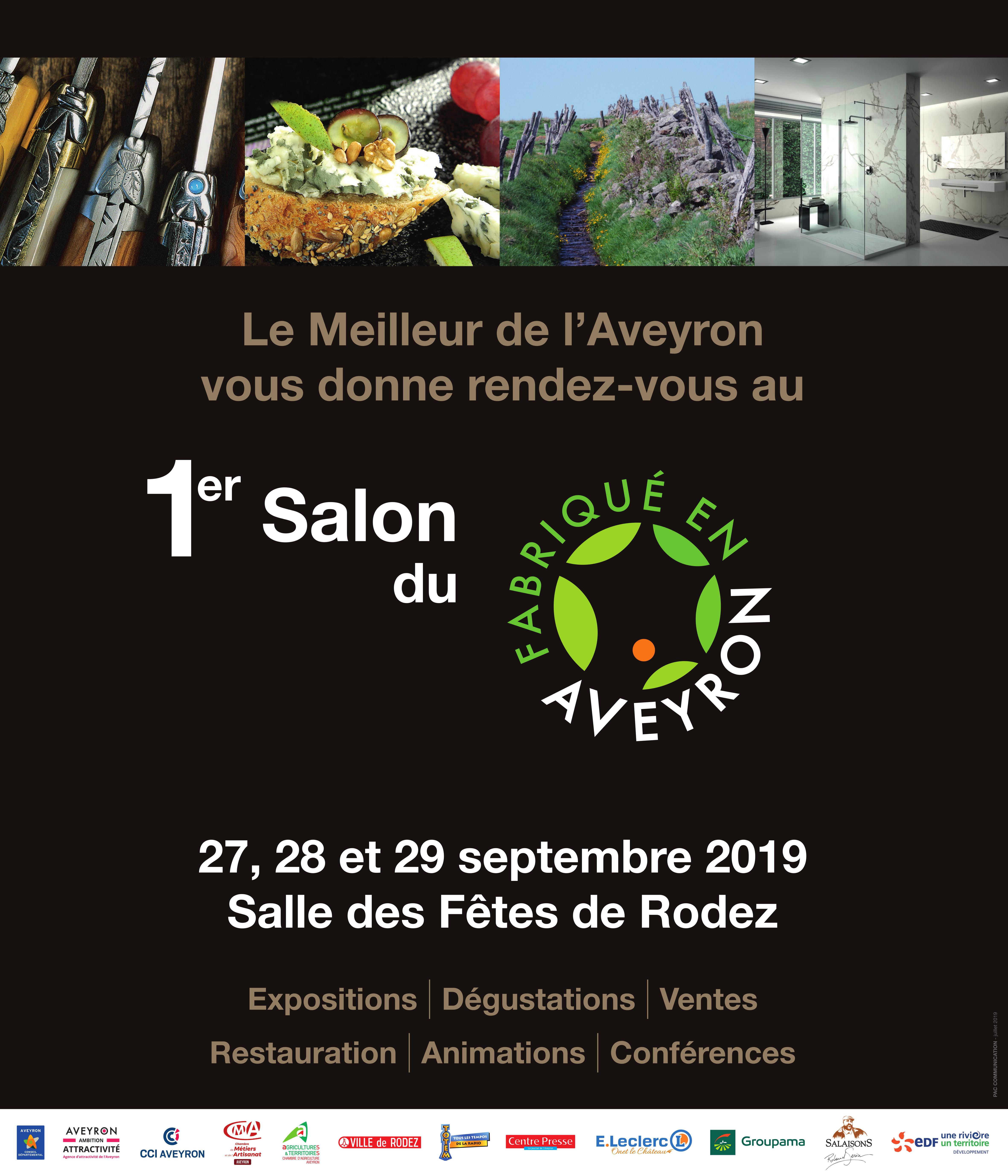 Organisation 1er Salon du Fabriqué en Aveyron